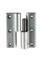 Global Door Controls Th1100-Hk1-Al, Deluxe Hinge Kit, Aluminum Finish