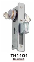 "Global Door Controls Th1101-1-1/8 Deadbolt 1 1/8"" Backset Mortise Locks (Lock Body Only)"