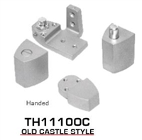 Global Door Controls Th1100 Series Offset Pivots - Th11100C Old Castle Style