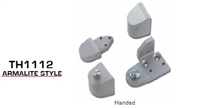Global Door Controls Th1100 Series Offset Pivots - Th1112 Amarlite Style
