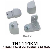 Global Door Controls Th1100 Series Offset Pivots - Th1114Km Pitco Style