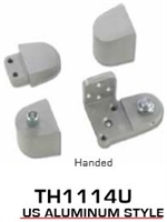 Global Door Controls Th1100 Series Offset Pivots - Th1114U Us Alum Style