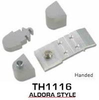 Global Door Controls Th1100 Series Offset Pivots - Th1116 Aldora Style