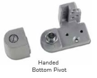 Global Door Controls Th1100 Series Offset Pivots - Th1118-B Kawneer Style Bot.