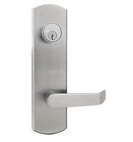 Townsteel Ed5500E-14-Us26D, Escutcheon Lever Trim, Passage Function, Clutch Freewheeling, Satin Chromium Plated