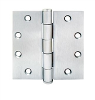 Townsteel Th179-5X4.5-Us26D, 5 Knuckle Plane Bearing, Removable Pin, 5 X 4.5, Satin Chromium Plated