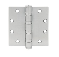 Townsteel Thbb168-4.5X4-Us26D, 5 Knuckle 4 Ball Bearing, Removable Pin, 4.5 X 4, Satin Chromium Plated