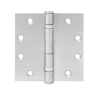 Townsteel Thbb179-4.5X4.5-Nrp-Us26D, 5 Knuckle 2 Ball Bearing, Non-Removable Pin, 4.5 X 4.5, Satin Chromium Plated