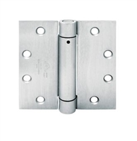 Townsteel Thsp179-4.5X4.5-Us26D, Ul Listed Spring Hinges, Adjustable Spring Tension, Us26D
