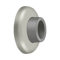"Deltana WB250U15 - Wall Mount Concave Flush Bumper, 21/2"" Diam. - Brushed Nickel Finish"