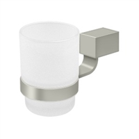 Deltana Za2014-15 - Frosted Glass Tumbler Set Za Series - Brushed Nickel Finish