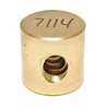 G26664 - Back Gauge Brass Screw Nut - Fabricated - Same as Challenge Part #7114