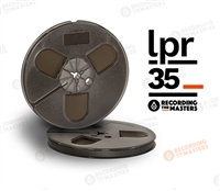 "LPR35 Reel to Reel Audio Recording Tape on 10.5"" NAB Metal Reel by Recording The Masters (RTM)"