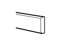 "Ashford Series York White BATTEN MOLDING - 3/16""DX3/4""HX96""W ) from The Cabinet Depot"