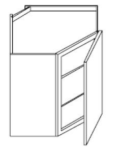 "Fairfield Series Barrington White  Wall SPICE DRAWER - 1 DRAWER (6""Wx24""D""x34 1/2""H) from The Cabinet Depot"