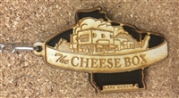 The Cheese Box Keychain