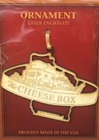 The Cheese Box Ornament