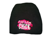 Pistol Packing Chick Beanie