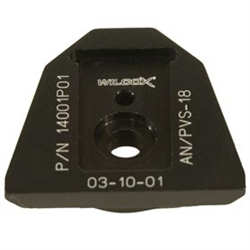 Wilcox 14001G01 NVG Interface Shoe Adapter for AN/PVS-18