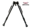 "Harris 1A2-25 Bipod | 12-25"" Solid Base w/ Smooth Legs"