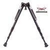 "Harris 1A2-25C Bipod | 13.5-27"" Solid Base w/ Smooth Legs"