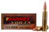 Barnes VOR-TX .223 Ammo 55 Grain TSX Hollow Point | Lead Free
