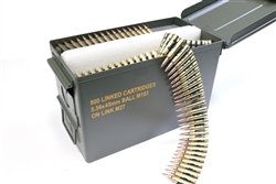 Magtech/CBC 5.56x45 M193 NATO Linked Ammo 55 Grain Full Metal Jacket