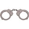Peerless Chain Link Handcuffs | Nickel Finish