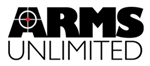 "Arms Unlimited 3"" x 6"" Promotional Logo Sticker"
