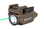 Olight Baldr Mini 600 Lumen Rechargeable WeaponLight w/ Green Laser