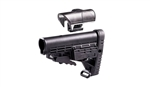 CAA Collapsible AR15/M4 Stock w/ Adjustable Cheek Rest