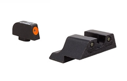Trijicon HD XR Tritium Night Sights Orange Front Outline for Glock G42 / G43 Pistols