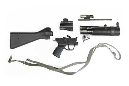 Heckler & Koch MP5-SD 9mm Complete Parts Kit - USED