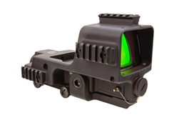 Trijicon MGRS Machine Gun Reflex Sight 35 MOA Red Segmented Circle 3 MOA Red Dot Reticle with Integrated Thumbscrew Mount