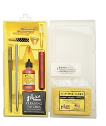 Pro-Shot 9mm 38 357magnum 10mm 44magnum 45acp Complete Universal Handgun Cleaning Kit