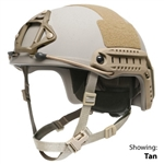 Ops-Core FAST XP High Cut Ballistic Helmet w/ Skeleton Shroud & ARC Rails