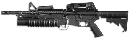 colt m203 37mm grenade launcher m4 profile 9 barrel