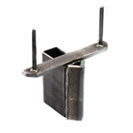 2x4 Wood Stand Mount Bracket for Rubber Dummies Body Target