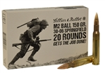 Sellier & Bellot .30-06 Springfield M2 Ball Ammo 150 Grain Full Metal Jacket