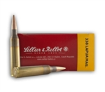 Sellier & Bellot .338 Lapua Magnum Ammo 300 Grain Sierra Match King Hollow Point Boat Tail