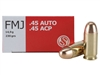 Sellier & Bellot .45 ACP Ammo 230 Grain Full Metal Jacket