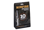 Sonic Boom Exploding Rimfire Target | 10-Pack