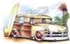 '51 Ford Woody T-shirt