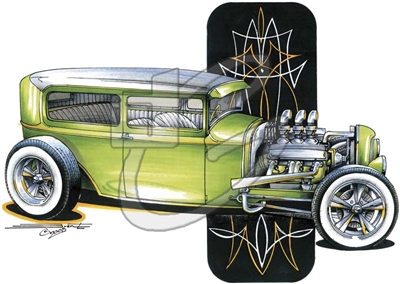 '32 Ford Tudor Sedan T-shirt
