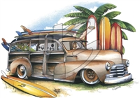 '48 Chevy Woody T-shirt