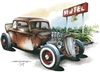 Vintage Rat Rod Hot Rod T-shirt