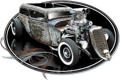 Blown Rat Rod Hot Rod T-shirt