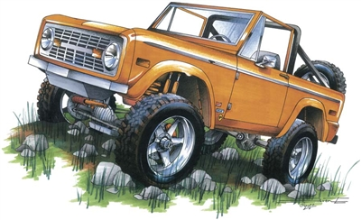 Ford Bronco T-shirt