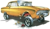 Ford Falcon Gasser T-shirt