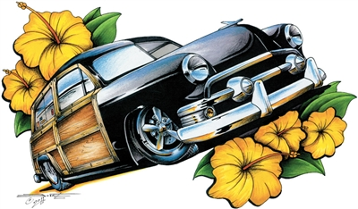 '51 Classic Ford Woody T-shirt